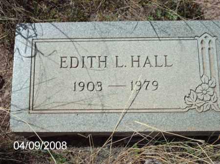 HALL, EDITH L. - Gila County, Arizona | EDITH L. HALL - Arizona Gravestone Photos