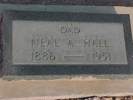 HALL, NEAL A. - Gila County, Arizona | NEAL A. HALL - Arizona Gravestone Photos