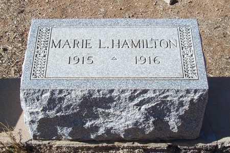 HAMILTON, MARIE L. - Gila County, Arizona | MARIE L. HAMILTON - Arizona Gravestone Photos