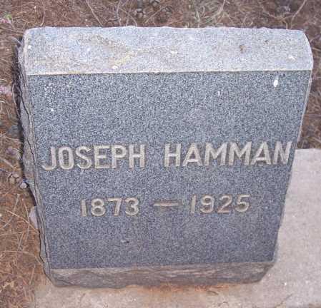 HAMMAN, JOSEPH - Gila County, Arizona | JOSEPH HAMMAN - Arizona Gravestone Photos