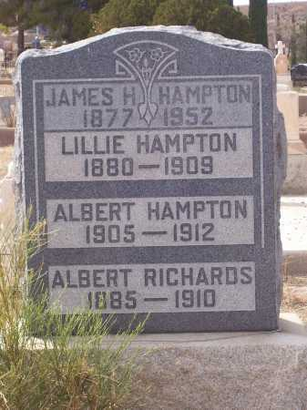 HAMPTON, LILLIE - Gila County, Arizona | LILLIE HAMPTON - Arizona Gravestone Photos
