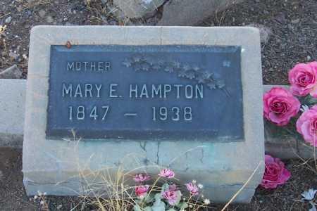HAMPTON, MARY E. - Gila County, Arizona | MARY E. HAMPTON - Arizona Gravestone Photos