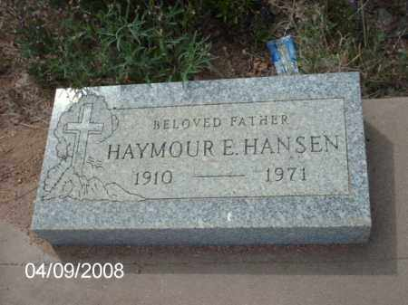 HANSEN, HAYMOUR E. - Gila County, Arizona | HAYMOUR E. HANSEN - Arizona Gravestone Photos