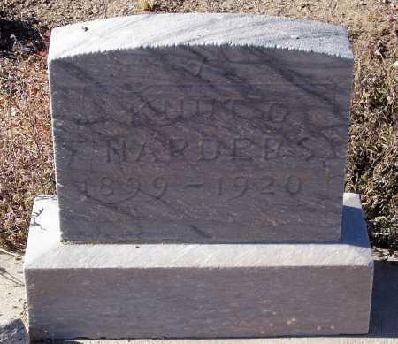 HARDERS, KNUT G. - Gila County, Arizona   KNUT G. HARDERS - Arizona Gravestone Photos