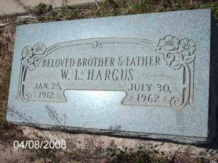 HARGUS, W. L. - Gila County, Arizona   W. L. HARGUS - Arizona Gravestone Photos