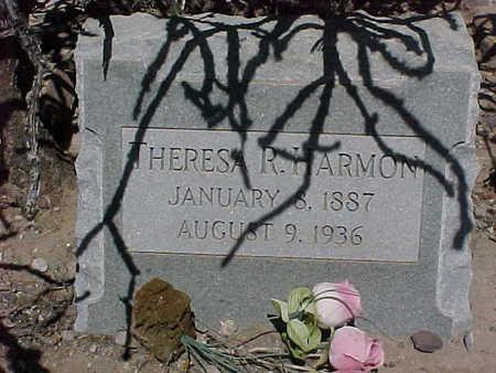 HARMON, THERESA  R. - Gila County, Arizona | THERESA  R. HARMON - Arizona Gravestone Photos