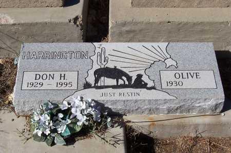 HARRINGTON, OLIVE - Gila County, Arizona | OLIVE HARRINGTON - Arizona Gravestone Photos