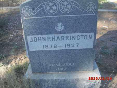 HARRINGTON, JOHN P. - Gila County, Arizona   JOHN P. HARRINGTON - Arizona Gravestone Photos