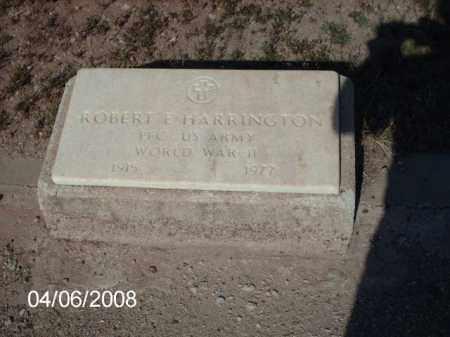 HARRINGTON, ROBERT E. - Gila County, Arizona | ROBERT E. HARRINGTON - Arizona Gravestone Photos
