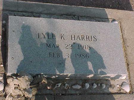 HARRIS, LYLE  K. - Gila County, Arizona | LYLE  K. HARRIS - Arizona Gravestone Photos