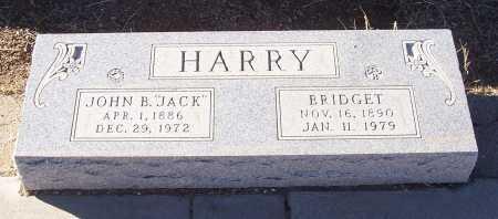 HARRY, JOHN B. (JACK) - Gila County, Arizona | JOHN B. (JACK) HARRY - Arizona Gravestone Photos