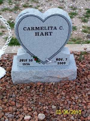 CONTRERAS HART, CARMAN - Gila County, Arizona | CARMAN CONTRERAS HART - Arizona Gravestone Photos