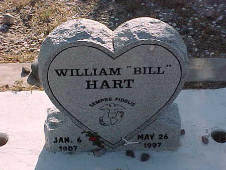 "HART, WILLIAM  ""BILL"" - Gila County, Arizona | WILLIAM  ""BILL"" HART - Arizona Gravestone Photos"