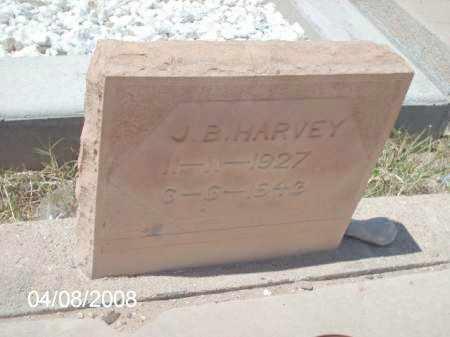HARVEY, J. B. - Gila County, Arizona   J. B. HARVEY - Arizona Gravestone Photos