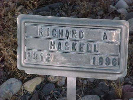 HASKELL, RICHARD  A. - Gila County, Arizona   RICHARD  A. HASKELL - Arizona Gravestone Photos