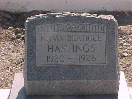 HASTINGS, NOMA  BEATRICE - Gila County, Arizona | NOMA  BEATRICE HASTINGS - Arizona Gravestone Photos
