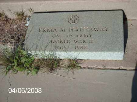 HATHAWAY, ERMA M. - Gila County, Arizona | ERMA M. HATHAWAY - Arizona Gravestone Photos