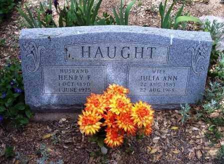 HAUGHT, JULIA ANN - Gila County, Arizona | JULIA ANN HAUGHT - Arizona Gravestone Photos
