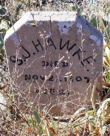 HAWKE, S.J. - Gila County, Arizona | S.J. HAWKE - Arizona Gravestone Photos