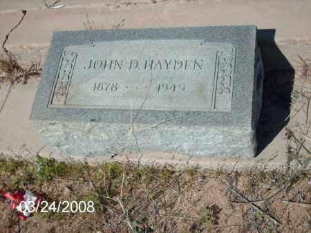 HAYDEN, JOHN - Gila County, Arizona   JOHN HAYDEN - Arizona Gravestone Photos