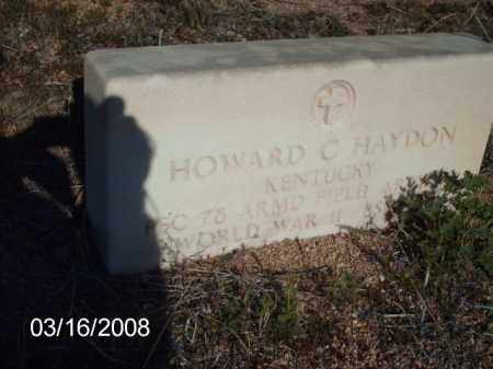 HAYDON, HOWARD - Gila County, Arizona | HOWARD HAYDON - Arizona Gravestone Photos
