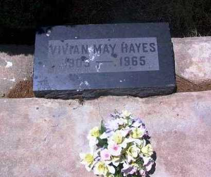 HAYES, VIVIAN MAY - Gila County, Arizona | VIVIAN MAY HAYES - Arizona Gravestone Photos