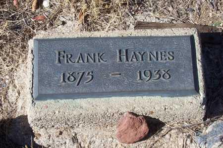HAYNES, FRANK - Gila County, Arizona | FRANK HAYNES - Arizona Gravestone Photos