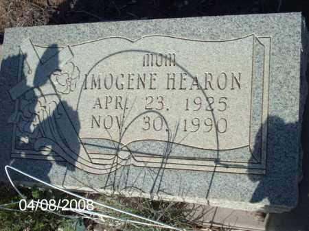 HEARON, IMOGENE - Gila County, Arizona | IMOGENE HEARON - Arizona Gravestone Photos