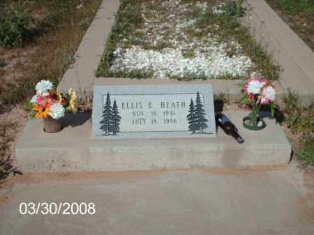 HEATH, ELLIS E. - Gila County, Arizona | ELLIS E. HEATH - Arizona Gravestone Photos