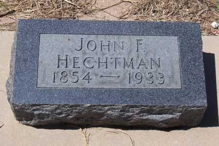 HECHTMAN, JOHN F. - Gila County, Arizona | JOHN F. HECHTMAN - Arizona Gravestone Photos