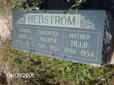 HEDSTROM, JOHN A. - Gila County, Arizona | JOHN A. HEDSTROM - Arizona Gravestone Photos
