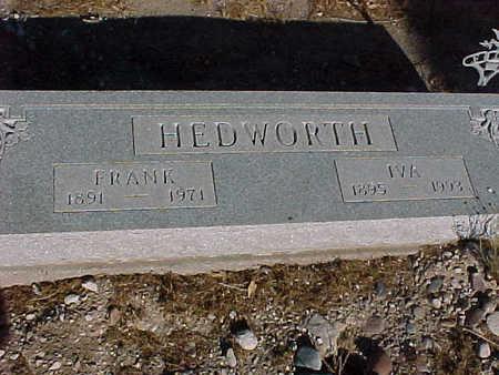 HEDWORTH, IVA - Gila County, Arizona | IVA HEDWORTH - Arizona Gravestone Photos