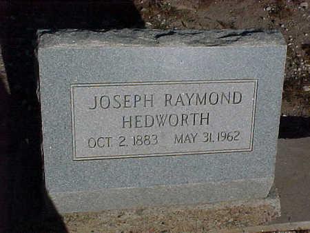 HEDWORTH, JOSEPH RAYMOND - Gila County, Arizona | JOSEPH RAYMOND HEDWORTH - Arizona Gravestone Photos