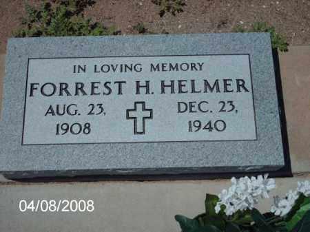 HELMER, FORREST H. - Gila County, Arizona   FORREST H. HELMER - Arizona Gravestone Photos