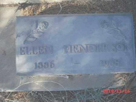 HENDERSON, ELLEN - Gila County, Arizona | ELLEN HENDERSON - Arizona Gravestone Photos