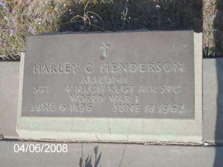 HENDERSON, HARLEY C. - Gila County, Arizona | HARLEY C. HENDERSON - Arizona Gravestone Photos