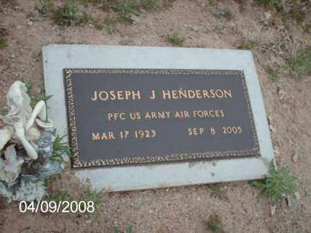 HENDERSON, JOSEPH J. - Gila County, Arizona   JOSEPH J. HENDERSON - Arizona Gravestone Photos