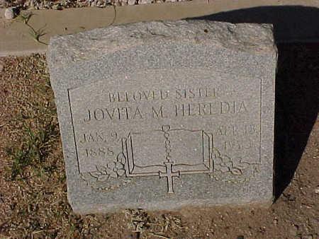 HEREDIA, JOVITA  M. - Gila County, Arizona   JOVITA  M. HEREDIA - Arizona Gravestone Photos