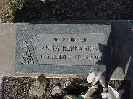 HERNANDEZ, ANITA - Gila County, Arizona   ANITA HERNANDEZ - Arizona Gravestone Photos