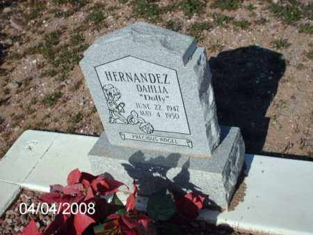 HERNANDEZ, DAHLIA - Gila County, Arizona   DAHLIA HERNANDEZ - Arizona Gravestone Photos