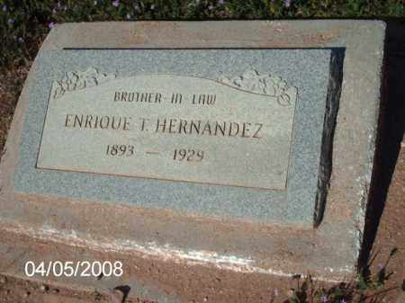 HERNANDEZ, ENRIQUE  T. - Gila County, Arizona | ENRIQUE  T. HERNANDEZ - Arizona Gravestone Photos