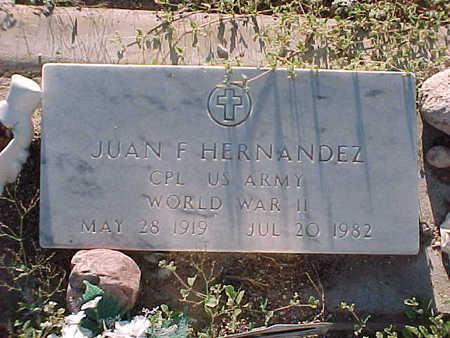HERNANDEZ, JUAN  F. - Gila County, Arizona | JUAN  F. HERNANDEZ - Arizona Gravestone Photos