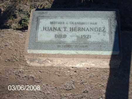 HERNANDEZ, JUANA - Gila County, Arizona | JUANA HERNANDEZ - Arizona Gravestone Photos