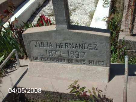 HERNANDEZ, JULIA - Gila County, Arizona | JULIA HERNANDEZ - Arizona Gravestone Photos