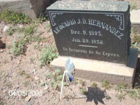 HERNANDEZ, LEOCADIO J. D. - Gila County, Arizona | LEOCADIO J. D. HERNANDEZ - Arizona Gravestone Photos