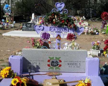 HERNANDEZ, MANUEL S. - Gila County, Arizona | MANUEL S. HERNANDEZ - Arizona Gravestone Photos