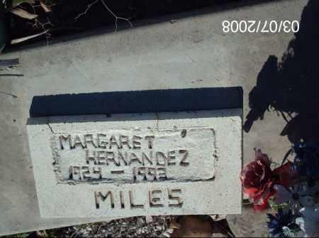 HERNANDEZ, MARGARET - Gila County, Arizona | MARGARET HERNANDEZ - Arizona Gravestone Photos