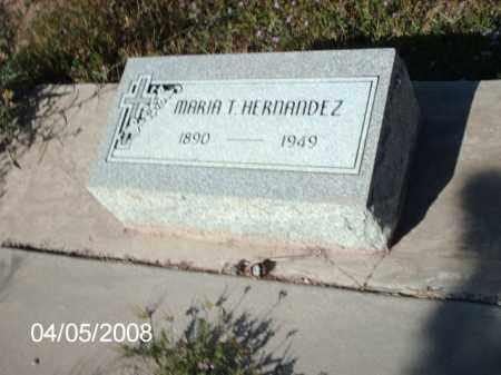 HERNANDEZ, MARIA T. - Gila County, Arizona | MARIA T. HERNANDEZ - Arizona Gravestone Photos