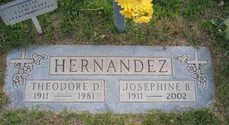 HERNANDEZ, JOSEPHINE - Gila County, Arizona | JOSEPHINE HERNANDEZ - Arizona Gravestone Photos