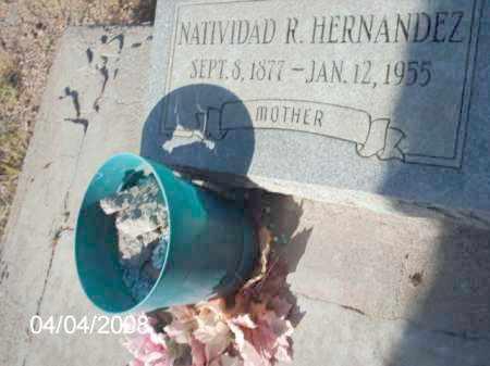 HERNANDEZ, NATIIVIDAD R. - Gila County, Arizona   NATIIVIDAD R. HERNANDEZ - Arizona Gravestone Photos